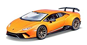 Bburago- Lamborghini Huracan Performante en Color Naranja y en Escala 1:24 (18-21092OR), Multicolor