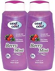 Cool & Cool Berry Mint Shower Gel - Pack of 2 Pcs ( 2 x 50