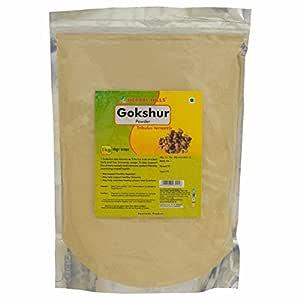 Herbal Hills Gokshur Powder - 1 kg Pack of 2 tribulus terrestris for men