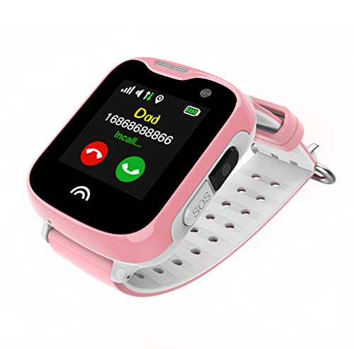NiñOs Smart Watch TeléFono Rastreador GPS Smarttouch Pantalla con CáMara Sim Card...