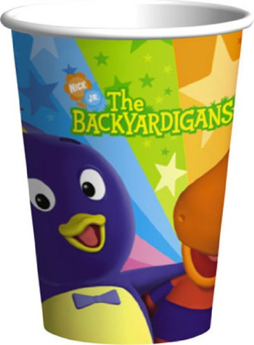 Backyardigans 9 oz. Paper Cups (8 count)