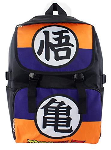 Cosstars Dragon Ball Anime Bolso de Escuela Mochila de Impresión de Imagen HD Bolsa de Estudiante Backpack /1