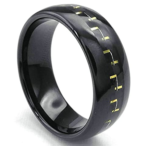 Daesar Stainless Steel Rings Mens Wedding Bands for Men Rings