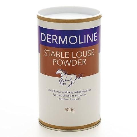 Dermoline stabile vermiesen, Pulver 500g Repellent gegen Läuse und andere