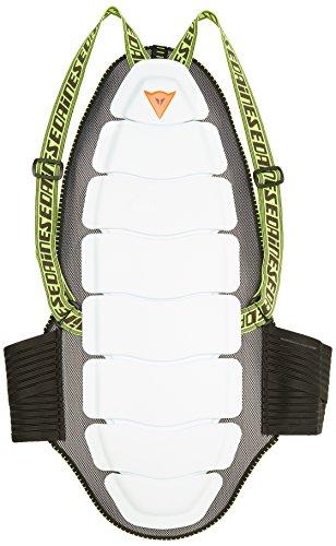 Dainese Ultimate Bap 03 Evo Protezioni da Sci, Bianco, L