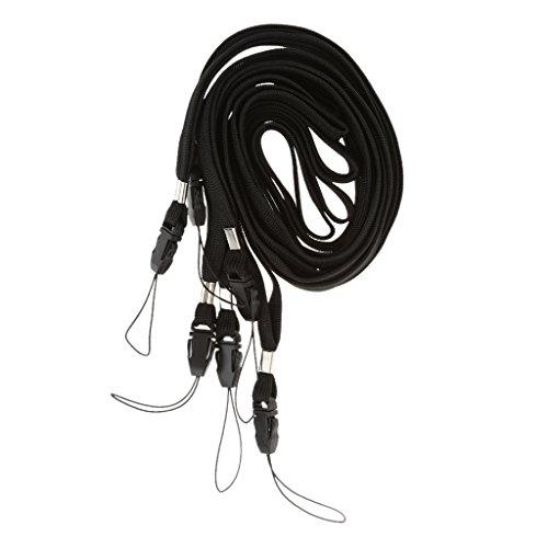 Sharplace 6pcs Umhängeband/Trageband/Schlaufe Band für Handys, PDA, Kamera, MP3-und MP4-Player, USB Flash Laufwerk