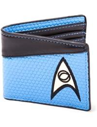 Bioworld Star Trek Science Blue Bi-Fold Wallet