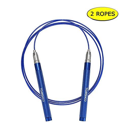 TOMSHOO 2PCs 3M Cuerda de Salto Ajustable Comba...