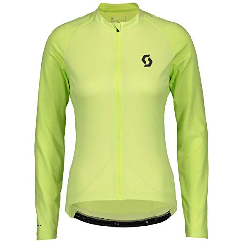 Scott Endurance 10 Damen Fahrrad Trikot lang grün 2019: Größe: M (38/40)