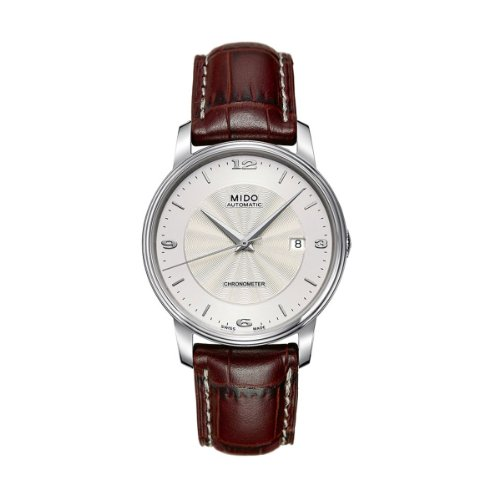 mido-mens-automatic-watch-baroncelli-m0104081603710-with-leather-strap