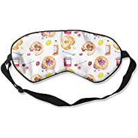 Eye Mask Eyeshade Bread Painting Sleeping Mask Blindfold Eyepatch Adjustable Head Strap preisvergleich bei billige-tabletten.eu