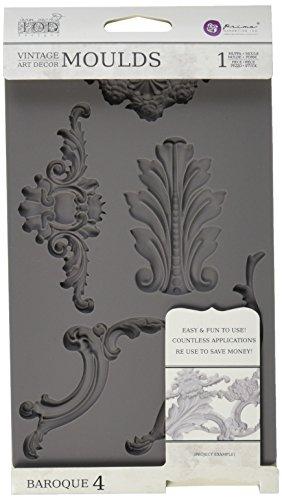 Prima Marketing hierro Orchid Diseños Vintage Art Decor molde-barroco # 4