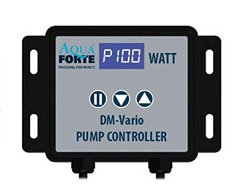 AquaForte Filter-/Teichpumpe DM-30000 Vario zwischen 52 und 385W stufenlos regelbar!, 12-29m³/h, Förderhöhe 8m -
