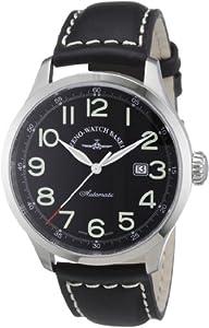Reloj Zeno Watch Basel 6569-a1 automático para hombre con correa de piel, color negro de Zeno Watch Basel