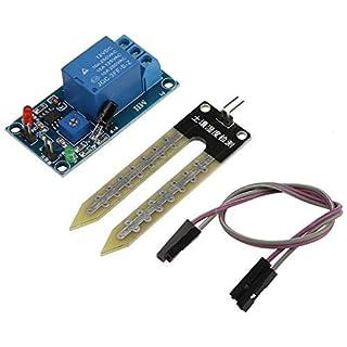 Hilitand DC12V Bodenfeuchte Sensor Relais Steuermodul Automatische Bewässerung Schalter