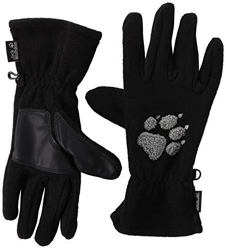 Jack Wolfskin Damen Handschuhe Paw, black, L, 19615-600004