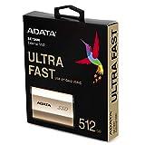 ADATA externe SSD SE730H Gold 512GB USB 3.1 Gen 2 Type C