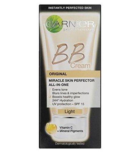 Skin Perfektor (Garnier Skin Perfektor Täglich All-In-One B.B. Blemish Balm Creme Licht 50Ml - Packung mit 2)