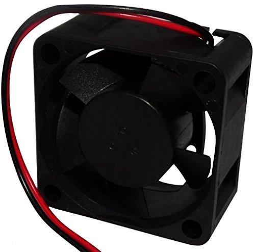 Preisvergleich Produktbild Aerzetix: Gehäuse Lüfter für Computer PC 5V 40x40x20mm 13, 08m3 / h 21dBA 6200rpm 26AWG