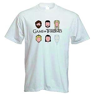 DrMugCollection Camiseta Juego de Tronos Faces 12