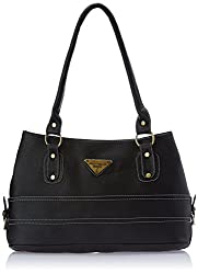 Fostelo Women's Handbag (Black) (FSB-206)