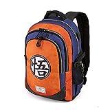 Karactermania Dragon Ball Symbol-Running HS Backpack Sac à Dos Loisir, 44 cm, 21 liters, Multicolore (Multicolour)