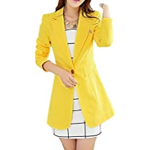 giacchetta gialla donna