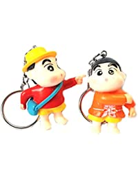 Blue Aura Buy Combo Of 2 Shinchan Keychain Collectible Bike Keychain Car Keychain Gifting Action Figure Keychain...