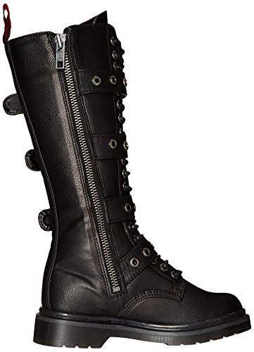 Demonia RIVAL-404 Blk Vegan Leather