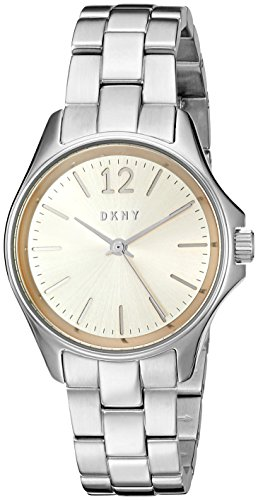 DKNY Women's Quartz Stainless Steel Automatic Watch, Color:Silver-Toned (Model: NY2522)
