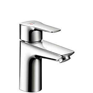 Hansgrohe 71111000mysport L de lavabo grifo mezclador de lavabo con desagüe cromo