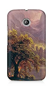 Amez designer printed 3d premium high quality back case cover for Motorola Moto E (Albert Bierstadt Classic Painting Art)