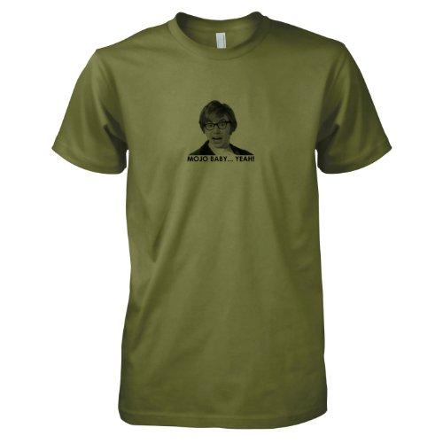 TEXLAB - Mojo Baby - Herren T-Shirt Oliv