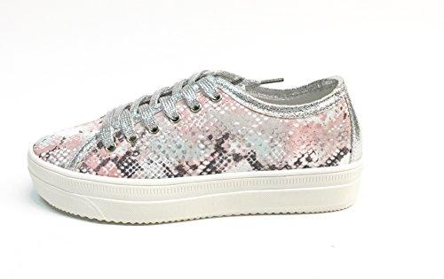 GOLD & GOLD , Chaussures de ville à lacets pour femme Multicolore multicolore 35 Rose
