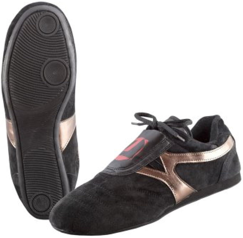 Ju Sports Taekwondo Schuhe Reza Schwarz Bronze  Billig und erschwinglich Im Verkauf