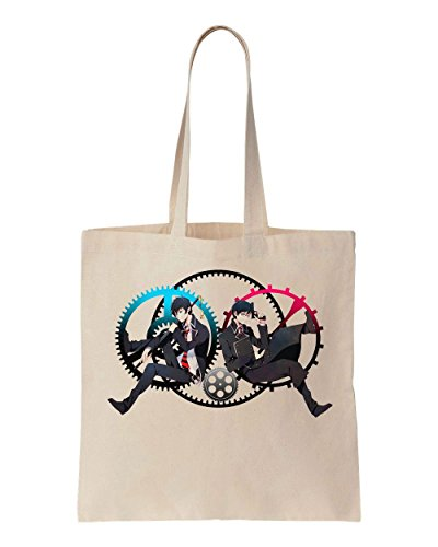 blue-exorcist-characters-rin-and-yukio-artwork-cotton-canvas-tote-bag