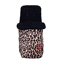Cosatto Paloma Faith Footmuff – Cosy Toes, All Season Quilted Pushchair Liner, Washable (Hear Us Roar)