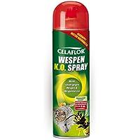 Celaflor Wespen K.O. Spray, Super-Distanz-Sprühstrahl bis 4 Meter gegen Wespen und Wespennester mit Sofort- & Langzeitwirkung - 500 ml Sprühdose