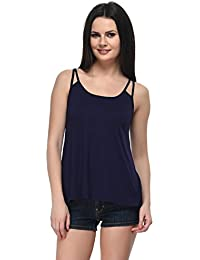 Frenchtrendz Women Double String Viscose Top