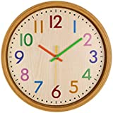 LuvBells Abs Wall Clock (12 inch, Multicolour)