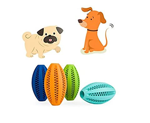 Gold butterfly@ Pet Puppy Teddy Large Dog Golden Paw Dog Teeth Clean Teeth Bite Dog Dog Toy Ball Rugby Ball (Color Random)