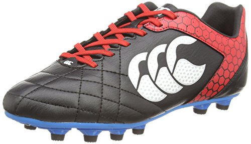 Canterbury Stampede Club Moulded, Chaussures de Rugby Homme Noir (Black 989)