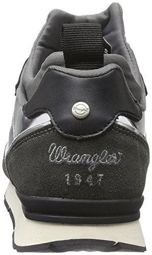 Wrangler - Runway Scuba, Scarpe da ginnastica Donna Argento (Silber (441 Grey/Silver))