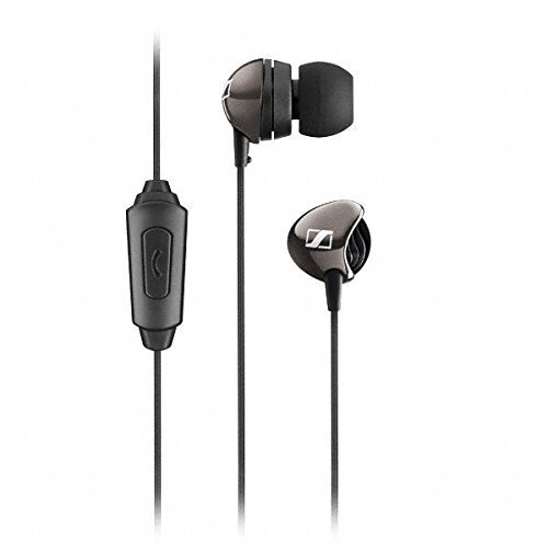 Mobilab Sennheiser CX 275 S In -Ear Universal Mobile Headphone With Mic (Black)  available at amazon for Rs.1599