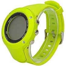 Fulltime (TM) lujo reloj de goma correa de banda de repuesto para Suunto Ambit 3Pico/Ambit 2/Ambit 1, mujer hombre Infantil, verde