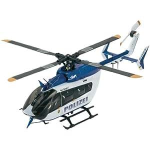 RobbeHélicoptère électrique monorotor 1-NE3524RTB Solo Pro 229 EC145 police FTR prêt à naviguer (RtB)