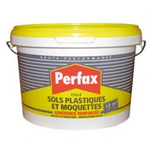 Perfax Bodenkleber, für Kunststoff- und Teppichböden, 3 kg, in Eimer