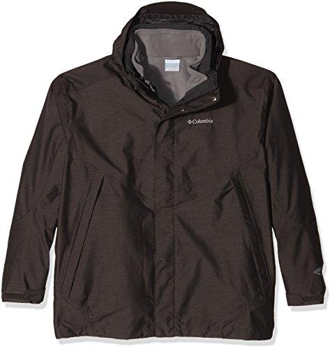 Columbia Herren Sestrieres Interchange Jacket Jacke, Buffalo Crossdye/Boulder, XXL, WM1083 (Columbia Herren Fleece-jacke Braun)