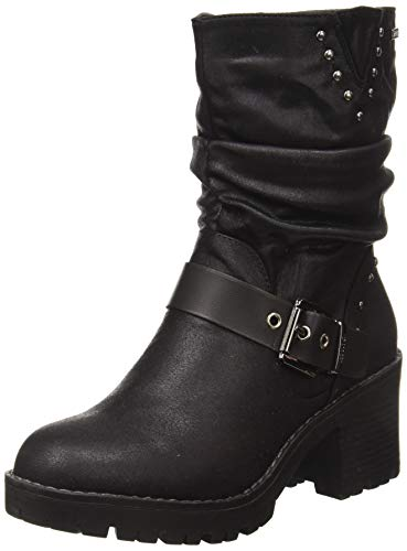MTNG Collection 57527, Biker Donna, Nero (Karma Vaqueta Negro C42824), 39 EU