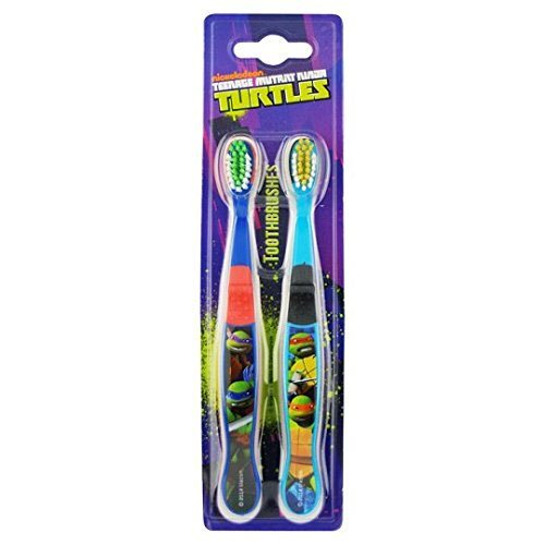 Image of Teenage Mutant Ninja Turtles 1607 Twin Toothbrush